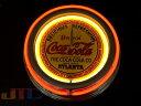 RoomClip商品情報 - コカ・コーラCOCA・COLA COKE コーラ 赤 2連ネオン クロック W ネオンクロック 時計 BAR Cafe ネオン管 ネオン看板