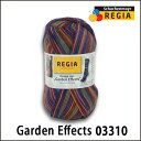 REGIA 靴下用毛糸 Design Line Garden Effects 03310