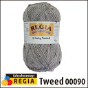REGIA 靴下用毛糸 Tweed 00090