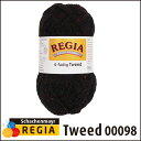 REGIA 靴下用毛糸 Tweed 00098