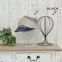 帽子スタンド ウィッグスタンド アイアン [ 帽子 キャップ ハット 収納 帽子掛け スタンド