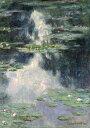 【送料無料】絵画 油彩画 油絵 複製画/クロード・モネ 睡蓮と池 F10サイズ 686x611mm 【すぐに飾れる豪華額縁付 キャンバス】