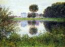 油絵 クロード・モネ アルジャントゥイユのボールの形をした木 P12サイズ P12号 606x455mm 油彩画 絵画 複製画 選べる額縁 選べるサイズ