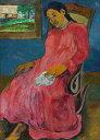 絵画 インテリア 額入り 壁掛け 油絵 ポール・ゴーギャン 憂鬱 P20サイズ P20号 727x530mm 絵画 インテリア 額入り 壁掛け 油絵