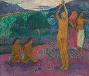 油絵 油彩画 絵画 複製画 ポール・ゴーギャン 祈り F10サイズ F10号 530x455mm すぐに飾れ