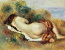 ピエール=オーギュスト・ルノワール 横たわる裸婦 F30サイズ F30号 910x727mm 条件付き送料無料  額縁付絵画 インテリア 額入り 壁掛け複製油絵ピエール=オーギュスト・ルノワール