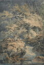 絵画 インテリア 額入り 壁掛け複製油絵ジョゼフ・マロード・ウィリアム・ターナー 釣り人 P20サイズ P20号 727x530mm 絵画 インテリア 額入り 壁掛け 油絵