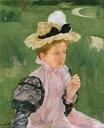 絵画 インテリア 額入り 壁掛け 油絵 メアリー・カサット 若い女性の肖像 F20サイズ F20号 727x606mm 絵画 インテリア 額入り 壁掛け 油絵