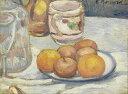 油絵 エミール・ベルナール リンゴのある静物 F12サイズ F12号 606x500mm 油彩画 絵画 複製