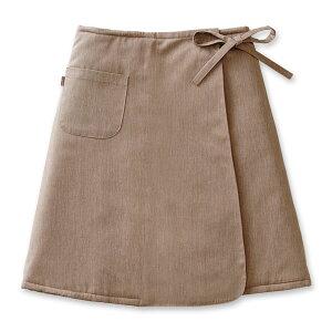 ソフゥール ウエストウォーマー ブラウン スカート オーストラリア メリノウール