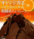 <新商品>チュベドショコラの割れチョコビターオレンジピール 800g