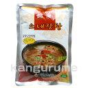 味の凝縮,スープが無ければ始まらない本格調理のお勧め韓国スープ ■韓国食品■コリコリした牛もつを味が染み込むまで煮込んだスープ!韓国スープ/ 眞漢ネジャンスープ