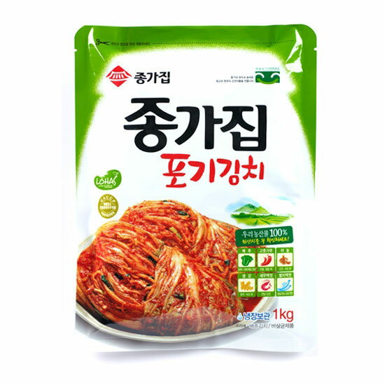 ★★◆1 kg of refrigeration ◆ head family Chinese cabbage kimchi ■ Korea food ■ food import ■ import food ■ Korean food ■ Korea food ■ Korea kimchi ■ kimchi ■ side dish ■ pickle ■ head family ■ John is ■ Chinese cabbage kimchi