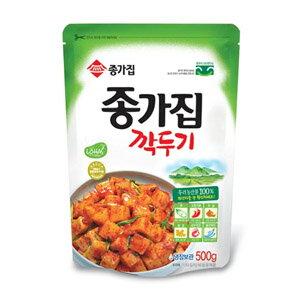 ◆冷蔵◆宗家 カクテキ500g■韓国食品■輸入食品■輸入食材■韓国料理■韓国食材■韓国キム…...:kangurume:10000094