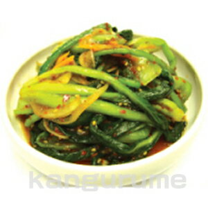 ◆冷蔵◆自家製小松菜キムチ 500g■韓国食品■韓国/韓国料理/韓国食材/韓国キムチ/キム…...:kangurume:10001081