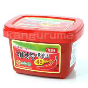 See haechandle' gigantic spicy red pepper paste 500 g ■ Korea food ■, tele ZIP / sushi / Korea cuisine / Korea food materials / seasoning / Korea source / pepper / chili / spice / capsaicin and pungent