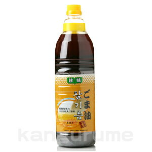 "/ for 1,800 ml of ""delicacy"" sesame oil ■ Korea food ■ Korea / Korean food / seasoning / Korea seasoning / Korea sesame oil / sesame oil / sesame oil / duties is deep-discount"