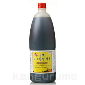 """ヘッミソ"" sesame oil 1650 ml ■ Korea food ■ Korea Korea food / seasonings / Korea seasoning Korea sesame oil and sesame oil / sesame oil / commercial / real cheap"