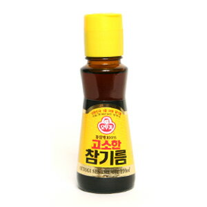 """オットギ"" sesame oil 110 ml ■ Korea food ■ low-price / Korea / Korea food / seasoning / Korea seasoning / Korea sesame oil / Korea sesame oil / sesame oil and sesame oil"