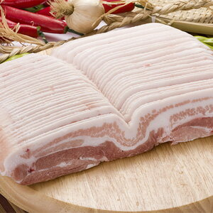 "▼Frozen ▲ Hel sea pork boom! 1 kg of slice pig plate ""サムギョプサル"" ■ Korea food■"