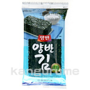 Yangban Nori Bento for 8pcs 1 bag ■ Korea food ■ Korea Korea Korea food Korea food material / Korea souvenirs / souvenirs / Korea seaweed / Nori / paste / paste emergency disaster prevention / disaster / mother's day / gifts / Midyear / your gifts / gift