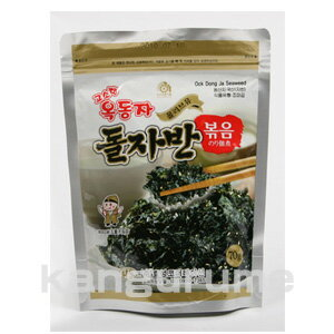 オッドンザ seasoned fried Nori 70 g ■ Korea food ■ Korea / Korea cuisine and Korea food material / Korea souvenirs / souvenirs / Korea Sea Moss seaweed / Korea / seaweed / Nori / mother's day gifts and Midyear / your gifts / gift/present