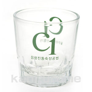 C1-yaki sake glass ■ Korea food ■ Korea food material / Korea cuisine / Korea souvenir and liquor / sake / shochu / Korea liquor Korea alcohol Korea shochu / original glass and real cheap.