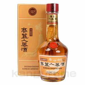 Koryo ginseng wine 700 ml ■ Korea food ■ Korea food material / Korea cuisine / Korea souvenir and liquor / sake / shochu / Korea liquor Korea alcohol traditional liquor / Korea traditional liquor and cheap