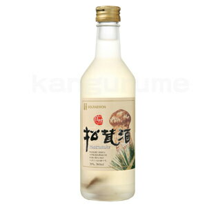 Matsutake alcohol ソンイジュ 360 ml ■ Korea food ■ Korea food materials and Korea cuisine and Korea souvenir / cheap wine / sake / shochu / Korea / Korea and liquors /