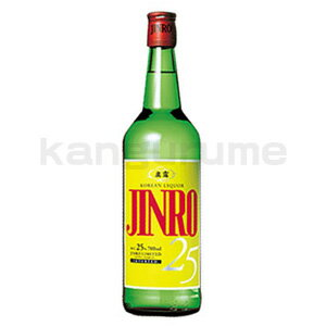 ★ ★ JINRO soju large 700 ml ■ Korea food ■ Korea food material / Korea cuisine / Korea souvenir and liquor / sake / shochu / Korea liquor Korea alcohol Korea shochu /JINRO / m. dew and Jinro / cheap