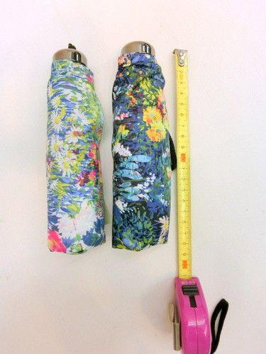 雨傘・折畳傘-婦人 超軽量・超短・5段式・日本製・ラウメール柄・ミニ折傘 傘 雨具 梅雨対策 ゲリラ豪雨