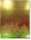 金箔調クリアファイル(兼六園〜雪吊り)