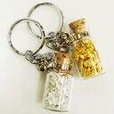 キーホルダー金・銀セット 金箔 銀箔 記念日 プレゼント 贈り物 記念品 プレゼント 小物 かわいい