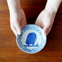 倉敷意匠×kata kata 印判手小皿 ふくろう【小皿 小鉢 中皿 鍋 取り皿 和食器 おしゃれ かわいい 国産 日本製】