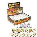 恐竜 たまご マジックエッグ 単品 [ 怪獣 ジュラシック タマゴ 卵 EGG 孵化 知育玩具 おも