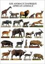 ポストカード アフリカの動物