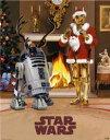 STAR WARS スターウォーズ ミニポスター Xmas C-3PO & R2-D2