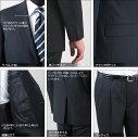 大きいサイズ スーツ/秋冬2ツボタンビジネススー...