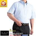 大きいサイズ 半袖シャツ/a.v.v HOMME 形態安定 ...