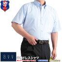 あす楽 大きいサイズ 半袖シャツ a.v.v HOMME 形態安定 半袖ドレスシャツ メンズ ビジネスシャツ 3L 4L 5L ワイシャツ クールビズ