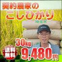 今なら⇒【レビューで500円値引き!】コシヒカリ 30kg 【送料無料】平成25年 埼玉県産 契約農家の お米 玄米対応 精米無料※玄米ご希望の場合は、必ずプルダウンより選択して下さい↓