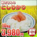 米人契約農家 植竹さんのお米は 『放射性物質不検出』の安心米です♪【送料無料】★新米★23年埼玉幸手産植竹さんのこしひかり 10kg
