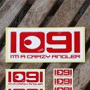 1091б╩едеье░едб╦I'm a crazy angler.е╣е╞е├елб╝ 124б▀54mmб┌┬чб█[есб╝еы╩╪┴ў╬┴╠╡╬┴б∙е╣е╞е├елб╝2000▒▀(└╟╩╠б╦░╩╛хдк╟удд╛хд▓][─рдъ е╣е╞е├елб╝]