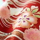 振袖 レンタル フルセット 正絹 着物 【レンタル】 結婚式 成人式 身長147-162cm 赤 re-042