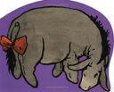 【中古】EEYORE, Giant Shaped Board Book (Winnie-the-Pooh)【中古】