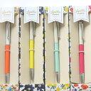 ショッピングボールペン 【花のステーショナリー】ロレッタキャシー ギフトペン【全4色】《おしゃれ/大人/かわいい/可愛い》