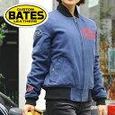 【在庫限り】バイク ジャケット レディース BATES 12oz Cotton Canvas Jackets 12オンス コットンキャンバスジャケット BAJ-L093C ライ..