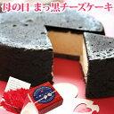 母の日リボンBOX*まっ黒チーズケーキ(おのし包装ラッピング不可)母の日スイーツプレゼント黒い真っ黒チーズケーキ