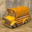 アメリカン スクールバス CD&リモコンラック 収納ラック 小物入れ ガレージ ビンテージ アメリカン雑貨 アメリカ雑貨 CD