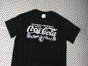 Coca-Cola コカコーラ プリントTシャツ ブラック(CC-VT1B) ロゴT コカコーラブランド USA アメカジ ブランド ドリンク アメリカ雑貨 コカコーラ 西海岸風 インテリア アメリカン雑貨